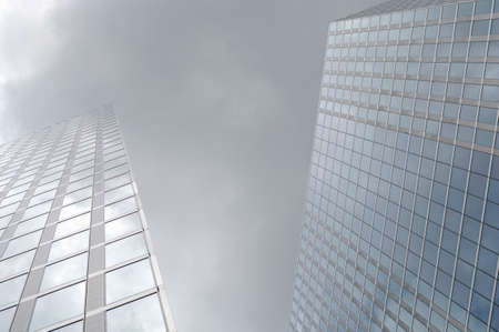 angle: Skyscraper low angle view