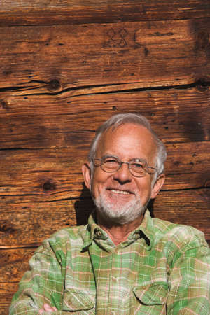 only senior adults: Austria Portrait of a senior man closeup LANG_EVOIMAGES