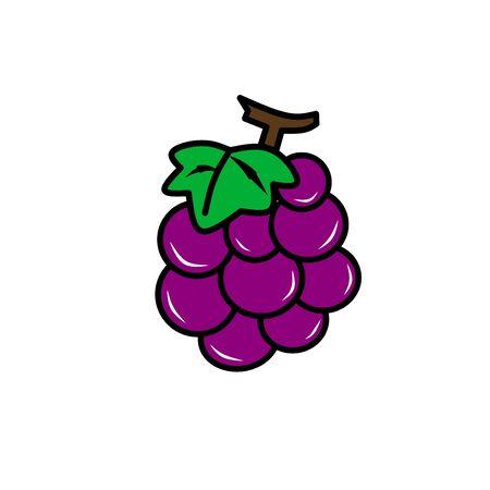 Fresh grape for business Vector Illustratie