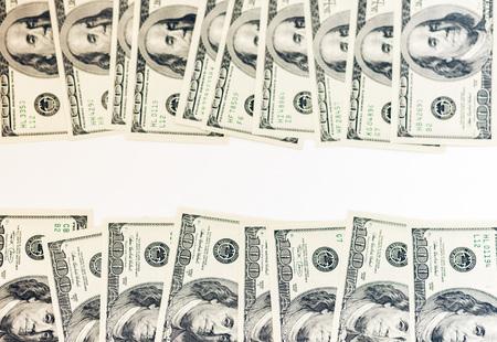 Money dollars background Reklamní fotografie