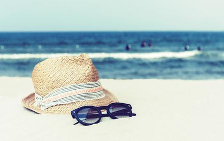 Tropical beach, summer concept