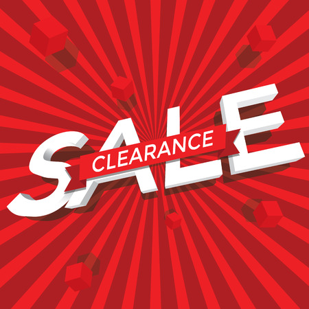 final: Sale clearance vector