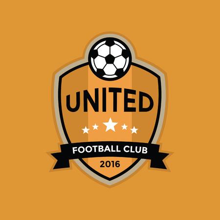 badge vector: Soccer football badge ,vector