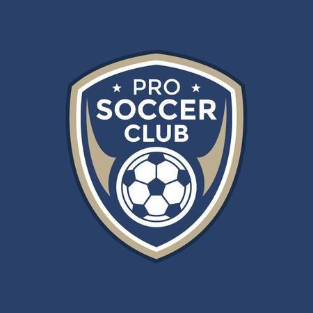 Soccer football badge logo,vector