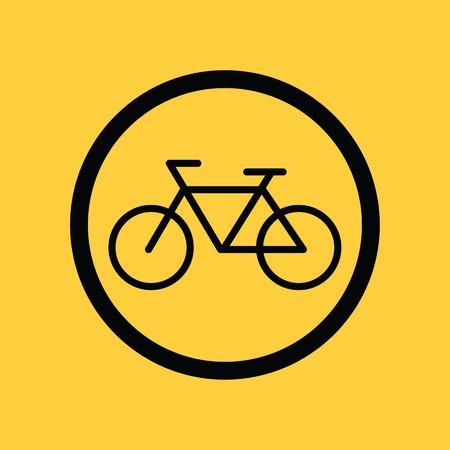 bicicleta vector: Muestra de la bici del vector Foto de archivo