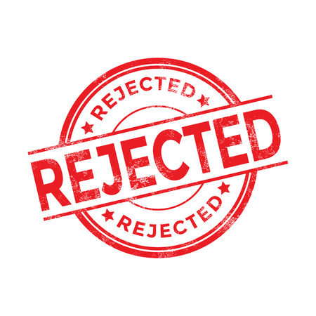 rejected: Rejected red stamp