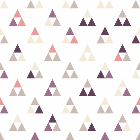 diamond shape: Seamless triangle pattern. Vector background. Geometric abstract texture