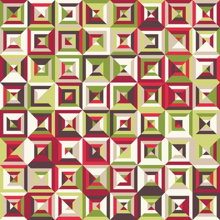 rectangle: Seamless rectangle geometric pattern Illustration