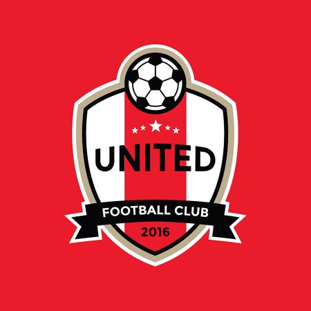 badge vector: Soccer football badge , vector
