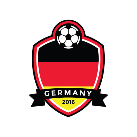 Germany Soccer Badgevector Royalty Free Cliparts Vectors And