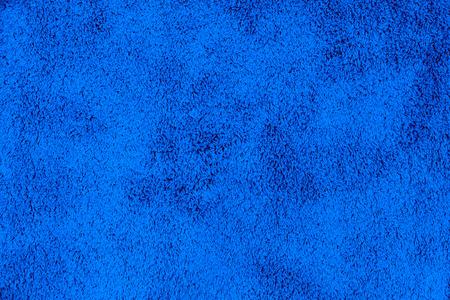 青い色のカーペットのテクスチャ
