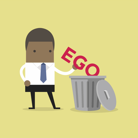 African businessman throw his ego into the trash.