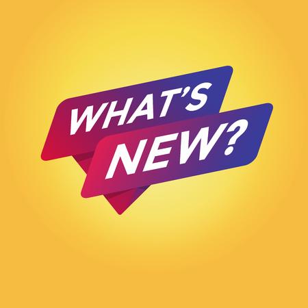 Was ist neu?