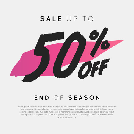 Sale up to 50% off End of Season used for sale discount.