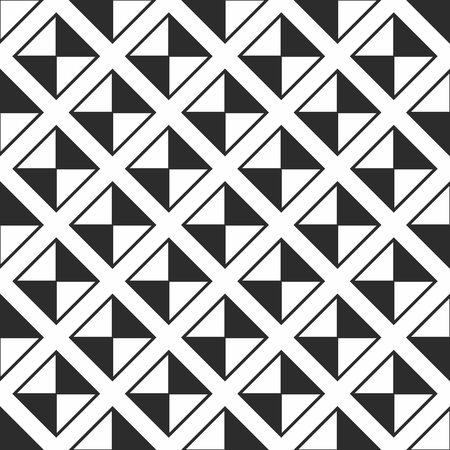 Geometric seamless pattern. Simple regular background. Vector
