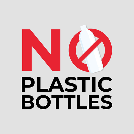No plastic bottles.