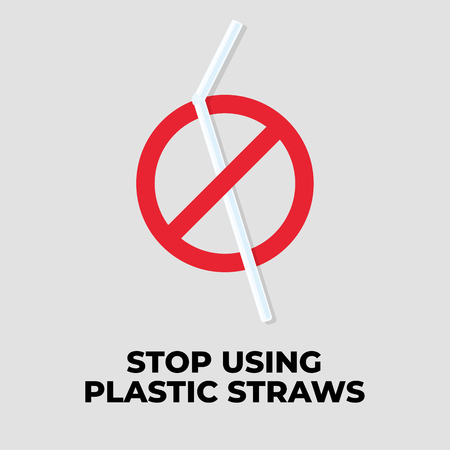 Stop using plastic straws.