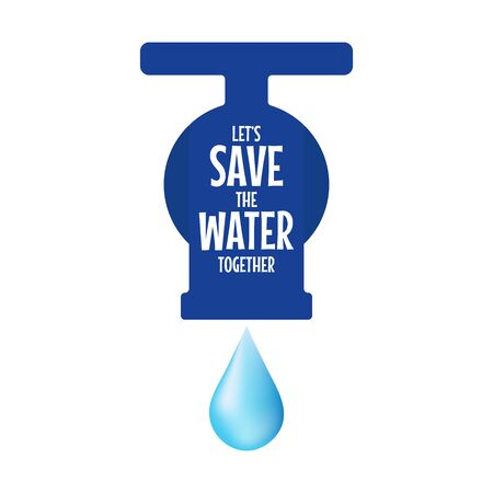 Save water concept. World water day.