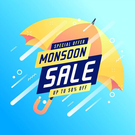 Monsoon special offer sale up to 50% off banner.
