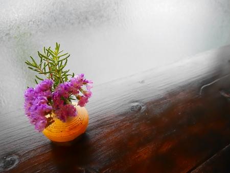 flores secas: Pequeñas flores secas