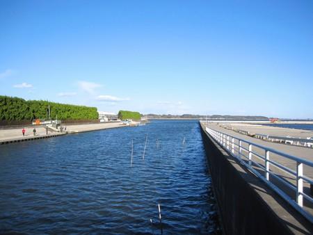 prefecture: Ibaraki Prefecture Tsuchiura city Shin river estuary