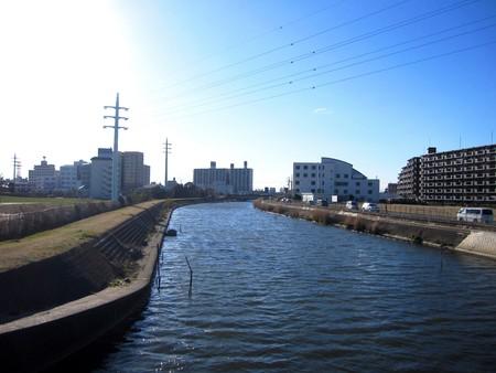 estuary: Ibaraki Prefecture Tsuchiura city Shin river estuary