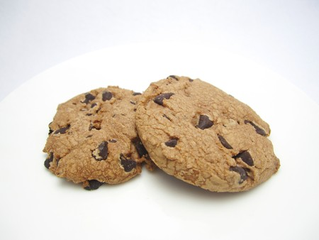 choco chips: Chocolate chip cookies