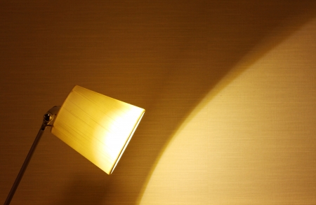 stand lamp in the room Stock Photo - 17017572