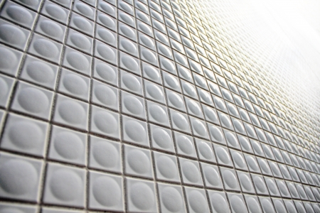 swell: facade pattern, by swell tile  Stock Photo