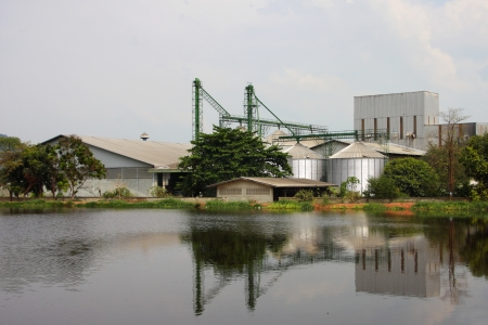 Agricultural and industrial, Thailand. photo