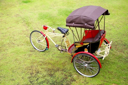 trishaw: Trishaw in Thailand Stock Photo