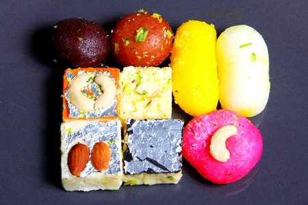 gulab: Indian sweets and desserts Stock Photo