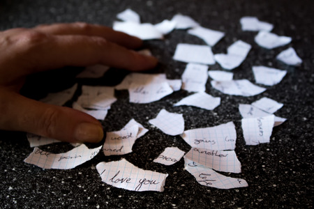 shredded: Love letter shredded to pieces