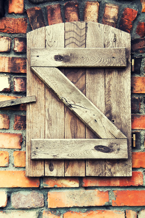 Vieux bois fond de porte Banque d'images