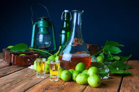 tincture: Healthy homemade walnut tincture