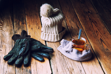 evenings: Hot tea for winter evenings