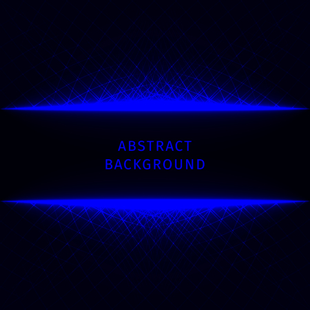 electric blue: Abstract lights blue strips on dark background