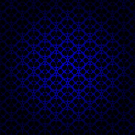 blue lights: Blue lights abstract geometric shape on dark background