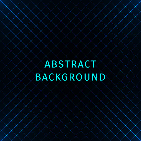 azure: Abstract lights azure strips on dark background