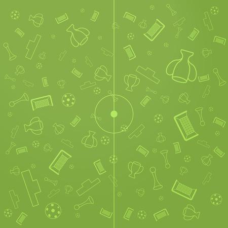 soccer background: European Championship Illustration, Soccer pattern background, football backdrop