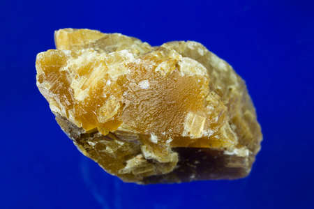A natural honey calcite from Mexico.