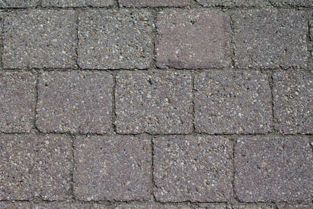 Texture of quaternary pavement swept clean.