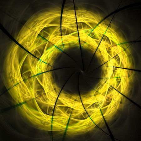beautiful abstract spiral photo