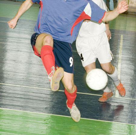 criterio: calciatori calcio attacco Archivio Fotografico