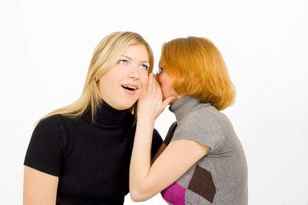 girls gossip Stock Photo - 2589716