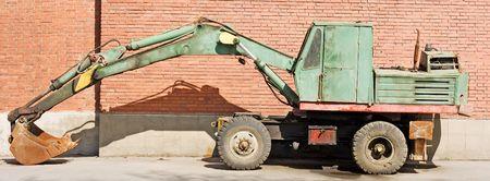 dredging tools: excavator bulldozer