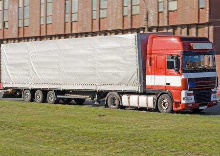 semi tractor trailer truck photo