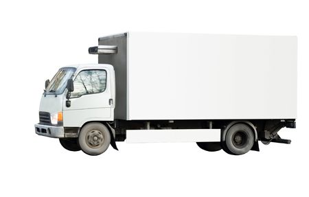 tractor trailer truck of