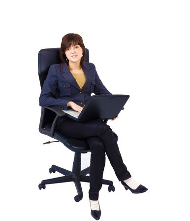 cute young female office worker Stock Photo - 2613280