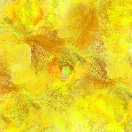 yellow mess abstract image photo